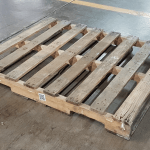 A proper pallet that is not broken.
